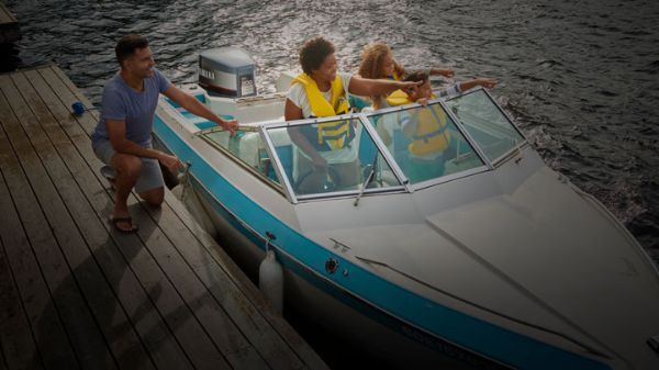 Boat insurance covers